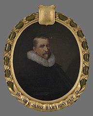 Portret van Cornelis Jansz. Hartigsvelt (vóór 1586-1641)