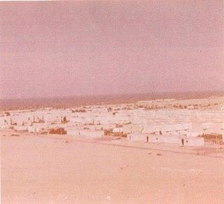 Yamit Former Israeli settlement in North Sinai, Egypt