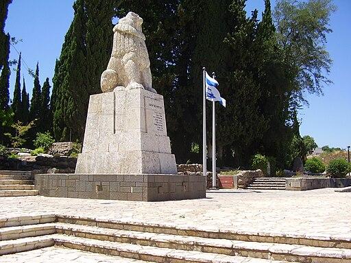 der brüllende Löwe von Tel Hai