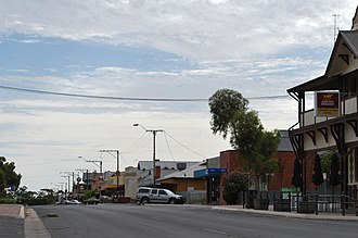 Pinnaroo, South Australia - Image: Pinnaroo Main Street 1