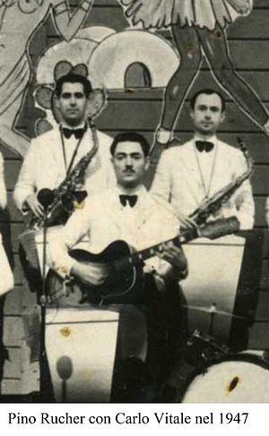 Pino Rucher - Pino Rucher with the Vitale Orchestra