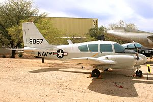 Piper PA-23 -  An ex-United States Navy U-11A on display at the Pima Air & Space Museum