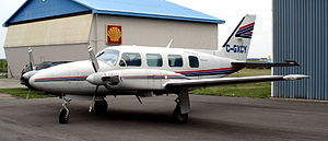 Piper PA-31 Navajo St Catharines 1.jpg