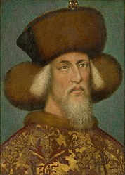 anonim: Portrait of Sigismund of Luxemburg