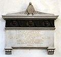 Pistoia, santa maria delle grazie, interno, monumento a filippo civinini, filippo pacini e atto tigri, 1933.jpg