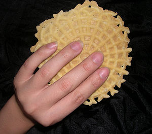 Pizzelle - Italian waffle cookie