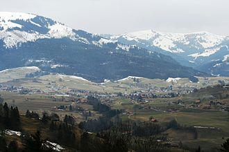Plaffeien - Plaffeien and Oberschrot municipalities
