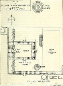 Plan of Qutb Complex Delhi India.jpg