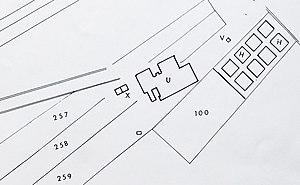 Gouhenans - Image: Plan puits n° 4 Gouhenans Crop