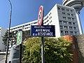 Plaque Avenue Résistance - Les Lilas (FR93) - 2021-04-27 - 2.jpg