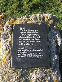 Plaque at coastal viewpoint - geograph.org.uk - 1019471.jpg