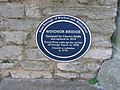 Plaque on Windsor Bridge - geograph.org.uk - 1051173.jpg