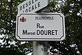 Plaque rue Douret Villemomble 1.jpg