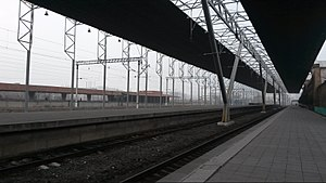 Yerevan railway station - Image: Platforms of Yerevan Railway Station 1