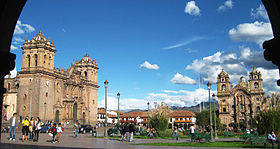 Carré Central, Cuzco, Pérou.