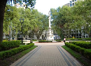 Plaza 25 de Mayo (Rosario) city square in Rosario
