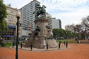 Monument to Giuseppe Garibaldi - Image: Plaza Italia, Palermo