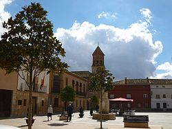 Plaça Major de Villarquemado
