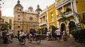 Plaza en la Ciudad Amurallada de Cartagena.jpg