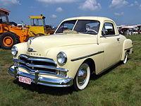 1950 Plymouth De Luxe Three Penger Coupe