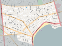 Street map of Pocitos