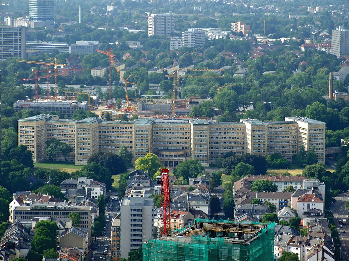 campus westend - mensa casino frankfurt am main