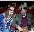 Poets amiri baraka and caterina davinio - 2013.jpg