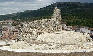 Poggio Picenze - The remains of Podio de Picentia castle