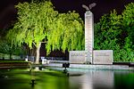 Polish War Memorial at Night.jpg