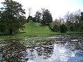 Pond, Downton Moot Gardens - geograph.org.uk - 756041.jpg