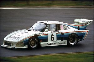 1980 World Sportscar Championship - Porsche won Division 1 of the 1980 World Championship for Makes with the 935