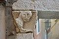 Portale romanico a Santa Croce Venezia capitello a sinistra.jpg