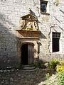 Porte du manoir de Ménorval, Guern, Morbihan.JPG