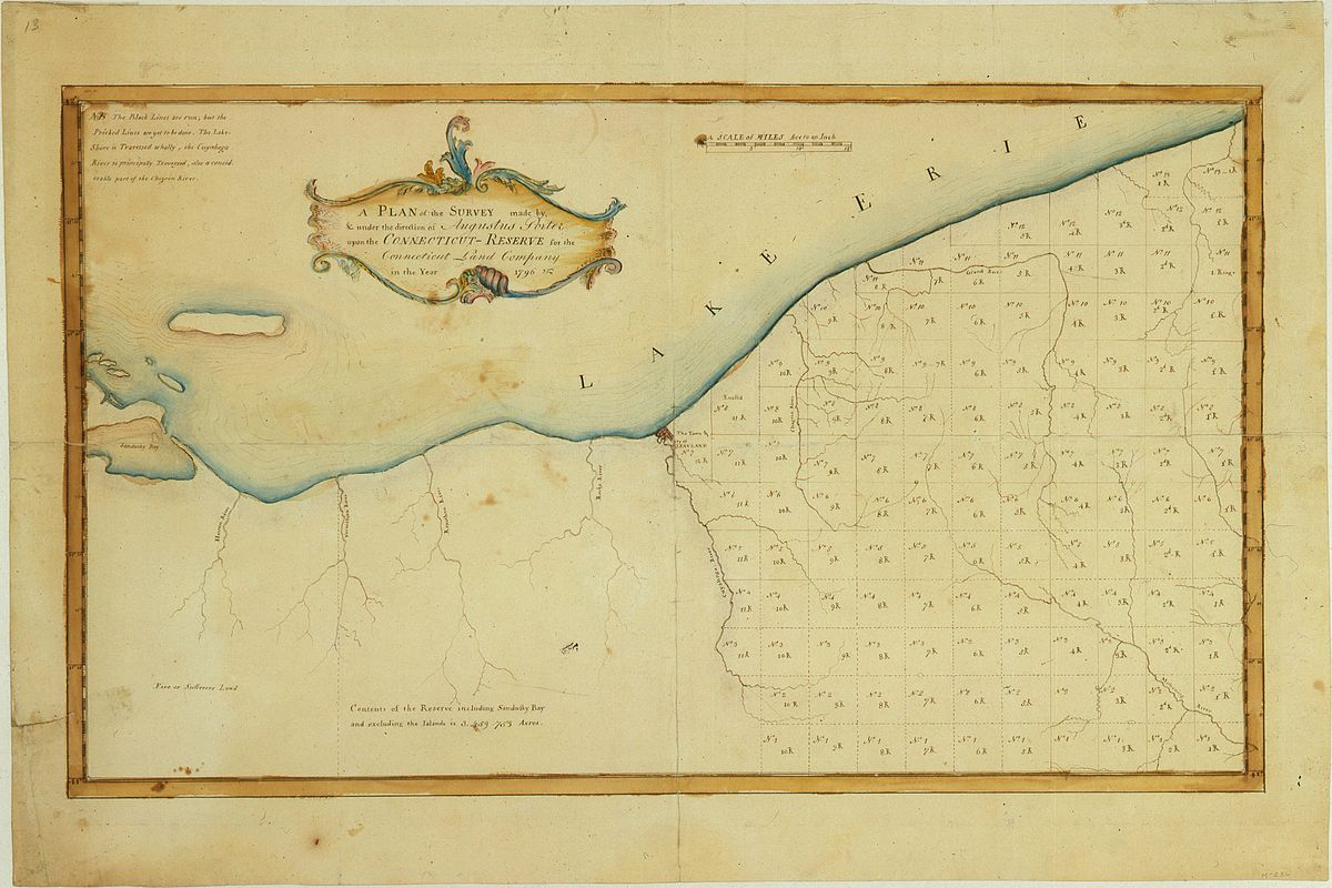 Connecticut Land Company Wikipedia - Printable us map of western reserve