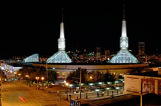 2016 IAAF World Indoor Championships - Oregon Convention Center in 2007