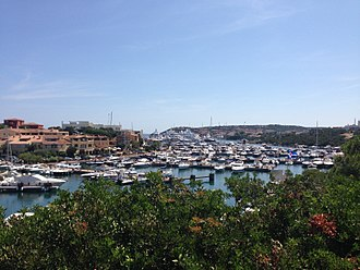 Porto Cervo - View of Porto Cervo