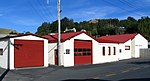 The Portobello Fire Station of the New Zealand Fire Service, on the Otago Peninsula.