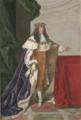 Portrait de duc en pied, portant une couronne d'or et le collier de l'ordre du Saint-Esprit.png