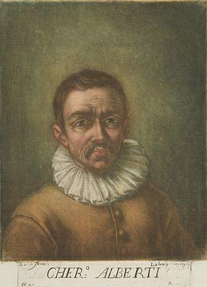 Cherubino Alberti - Portrait of Cherubini Alberti by Carlo Lasinio (1759-1838)