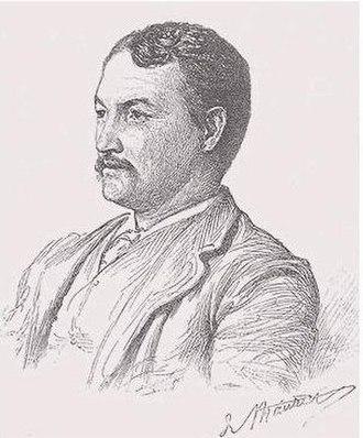 Francis Davis Millet - Francis Millet, portrait by George Du Maurier, 1889.