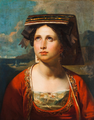 Portrait of a Venetian Woman - attrib. Carl Rahl (1812-1865).png