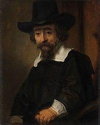 Portret van een man, vermoedelijk Dr. Ephraïm Bueno Rijksmuseum SK-A-3982.jpeg