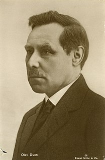 Olav Duun Norwegian writer