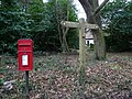 Post Box and Signpost - geograph.org.uk - 1210715.jpg