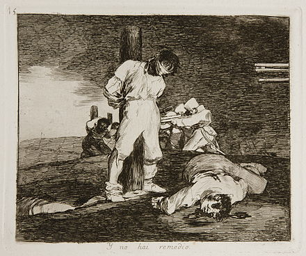 Goya's Y no hay remedio