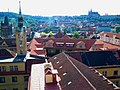 Praha - Klementinum - Astronomical Tower - View West.jpg