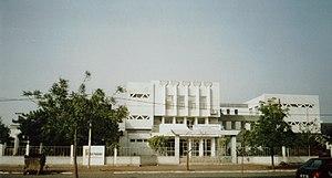 Education in Cape Verde - Teachers' Training College in Praia.