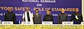 """Pranab Mukherjee at the inauguration of the National Seminar on """"Food Safety – Role of Standards"""", in New Delhi. The Minister of State (Independent Charge) for Consumer Affairs, Food and Public Distribution.jpg"""