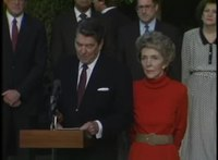 File:President Reagan's Remarks before leaving for Reykjavik, Iceland on south lawn, October 9, 1986.webm