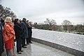 President of the Democratic Republic of the Congo Felix Tshisekedi Visits Arlington National Cemetery (47564925881).jpg
